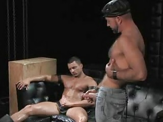 Angelo Marconi Fucked Overwrought Hairy Daddy Joshing West