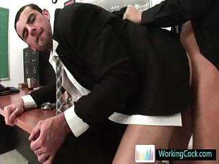 Jake doing a deeptroath coupled with does some ass making out by Workingcock