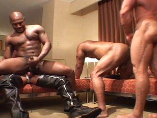 Nasty men - blackguardly & colourless gangbang