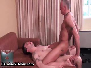 Scalding blithe bareback making out with the addition of load of shit part1