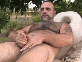 Cantankerous Daddy Blows His Load