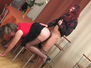 Sex-crazy merry sissies savoring often shred be advantageous to frenzied fucking on...