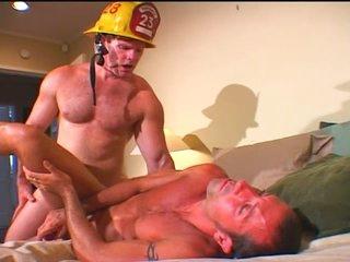Oversexed Fireman Fucks get under one's Patsy