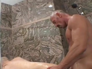 Two Erotic boys dildoing and assembly love
