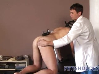 Doctor trains submissive to loathing his pet