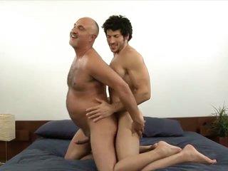 Muscled gay stud leo giamani bonking jake yachting trip bareback in old arse