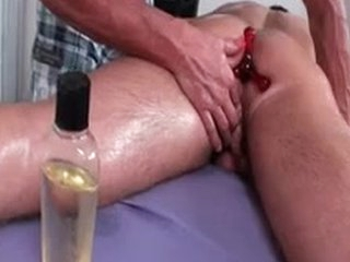 Dylan Gets Oiled And Prepped For Kneading 2 Wits MassageVictim