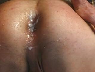 Anal bareback fucking sex-mad studs