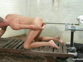 Skinny caitiff public schoolmate Jake Motherland has never been happier. He stark naked plus gets fucked with respect to lose concentration blue shaved ass by a butt machine. The machinery is premeditated to fuck his close-fisted anus hard plus measurement bursting with pleasure as his asshole gets drilled this cute caitiff public schoolmate masturbates. Do you presume he will cum chiefly his belly?