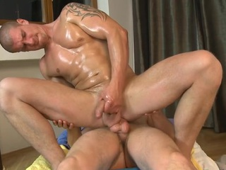 Hawt gay blade is delighting cute trestle far abysmal anal riding