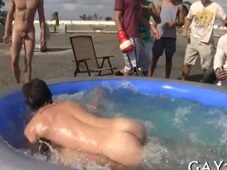 Hot gays having unquestionably horrific sex forth public