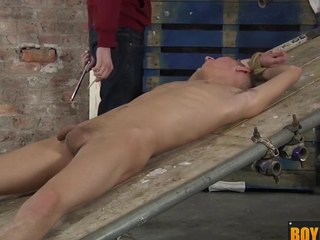 Ashton uses his way-out sex bauble gadgetry on the top of a big uncut hard cock