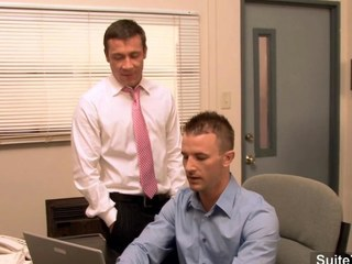 Incomparable merry gets exasperation banged in the office segment