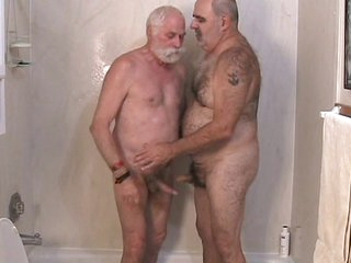 Twosome matured men object wanting
