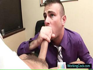 Matthew getting lubed for some serious anal fuck wide of workingcock