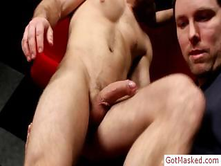 Young muscled gleam dick flannel sucked wide of gotmasked