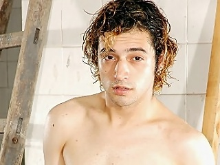 This clip features this Latino cutie with wavy hair and a fair to middling skin....
