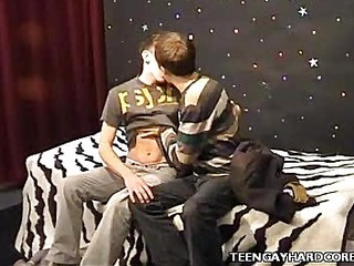 Cute Twinks Assembly Out