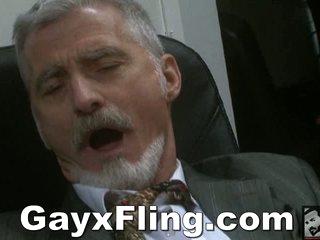 Gay Venerable Guy Masturbating In Assignment