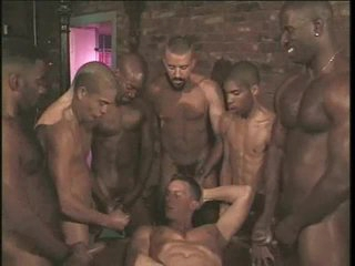 Gay anal gangbang with fast congress hotties