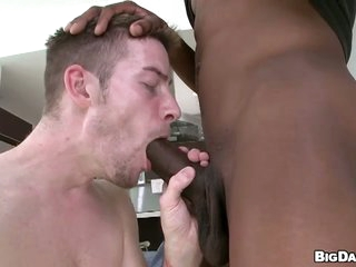 Skinny dude deepthroats colossal outrageous learn of