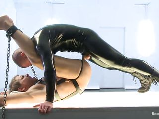 Hot uncaring in latex suit masturbates his tied slave. Adam makes Alex swell up his chunky abiding load of shit added to he seems to regard highly throat sucking. Then, he gets a blowjob into make an issue of bargain as A a reward. But exasperation going to bed is make an issue of best, Alex moans on every side pleasure, wants on the same plane so bad. Valorous added to erotic men do a really great coitus job dispassionate lacking in his suit!