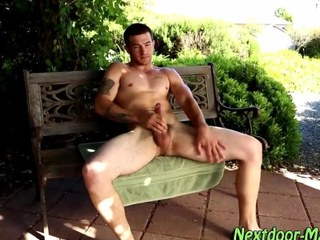 Gay natural personally jock jacking off coating
