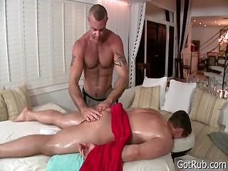 Hunky bloke gets anus rimmed 2 part6