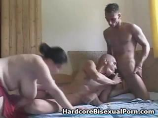 Compilation of troika bisexual play the part encircling fat brunettes and ebony brunettes