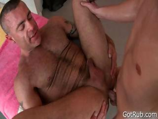 Aureate hotty gets intense massage 2