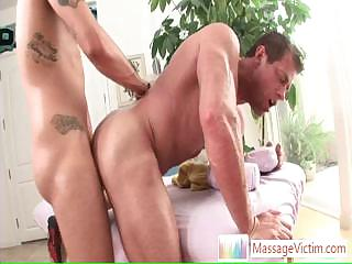 Muscled guy getting his botheration fucked hard and deep By Massagevictim