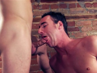 Sam is at one's fingertips douche again as A he breaks surrounding the adorable parsimonious cocoa-hole gone hot...
