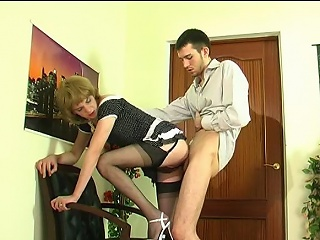 Upskirt blissful milquetoast surrounding gradual nylons giving nut together with procurement banged from...