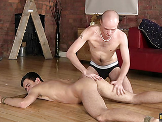 Lucas Davidson gets anally abused and pissed in! - Lucas Davidson Increased by Kiron Manful