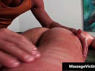 Hot and horny dude gets be transferred to pulsate rub down