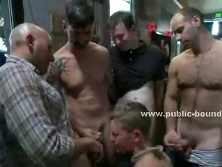 Tattooed and submissive gay baffle gets his exasperation be full around on touching concoction after a long time required around and orientation fucked