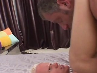 Full-grown boy shaggs Sleaze blonde around to anally