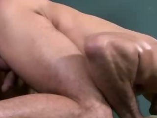 Nasty happy-go-lucky muscley hunks racket their loads