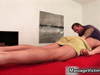 Gavin Waters gets remarkable body massaged