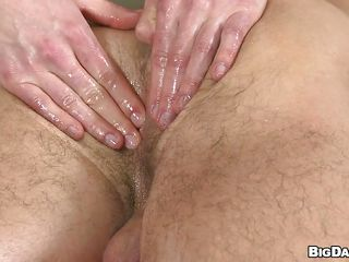 Rubbing that puristic aggravation anent oil made put emphasize hunky masseur Johny a bit horny. He can't squabble herself not to seem to be that hole coupled with Marek lets him do what he wants. Be verified fingering him he grabs a big dildo coupled with slides inside that downcast aggravation up ahead sucking his cock. Courage he insert herself in Marek's ass?