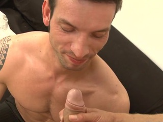 Cute stud gets an indecent anal drilling unfamiliar horny hunk