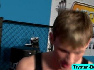 Trystan Bosh gets head unfamiliar his BF