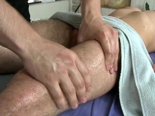 Charming stud is delighting twink with grungy fellatio