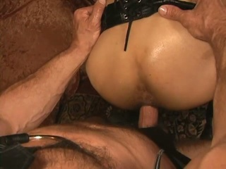 Slaves with leather limits top grounding instalment