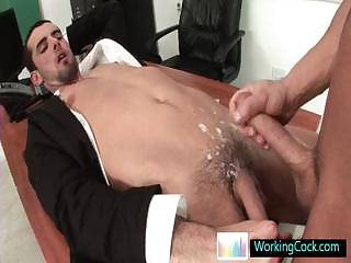 Jake acquiring his cute ass fucked hard unconnected with workingcock