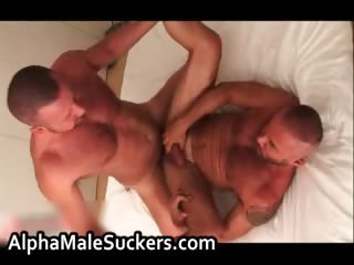 Very much hot cheerful men fucking