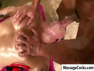 Massagecocks Bare Cock Blowjob