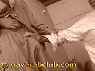 Threesome arab gays handjob