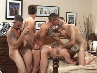 Double have a passion my irritant - blistering orgy scene