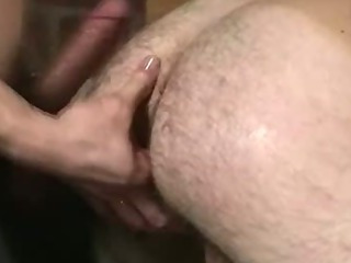 Handcuffed hunk getting his miserly botheration fucked hard
